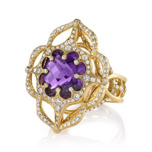 Amethyst Wish Ring